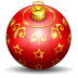 72x72px size png icon of christmas tree ball
