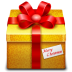 72x72px size png icon of gift 3