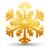 72x72px size png icon of snowflake 2