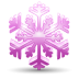 72x72px size png icon of snowflake 3