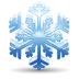 72x72px size png icon of snowflake