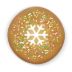 72x72px size png icon of christmas cookie round