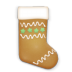 72x72px size png icon of christmas cookie stockings