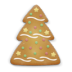 72x72px size png icon of christmas cookie tree