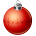 72x72px size png icon of christmas ball