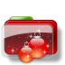 72x72px size png icon of Christmas Folder Balls Stars