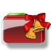 72x72px size png icon of Christmas Folder Bells