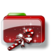 72x72px size png icon of Christmas Folder Candy