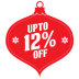 72x72px size png icon of upto 12 percent off