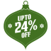 72x72px size png icon of upto 24 percent off