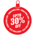72x72px size png icon of upto 30 percent off