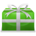 72x72px size png icon of Christmas Present 2