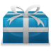 72x72px size png icon of Christmas Present 3