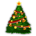 72x72px size png icon of Christmas Tree