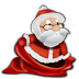 72x72px size png icon of Santa