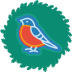72x72px size png icon of bird