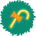 72x72px size png icon of cane