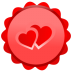 72x72px size png icon of Heart Inside
