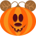 72x72px size png icon of Pumpkin Mouse