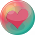 72x72px size png icon of heart pink 2