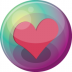 72x72px size png icon of heart pink 3