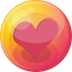 72x72px size png icon of heart pink 4