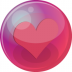 72x72px size png icon of heart pink 6
