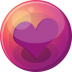 72x72px size png icon of heart purple 1