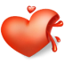 72x72px size png icon of heart blood