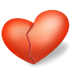72x72px size png icon of heart broken