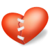 72x72px size png icon of heart patched