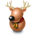 72x72px size png icon of Reindeer