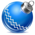 72x72px size png icon of ball blue 1