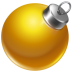 72x72px size png icon of ball yellow 2