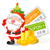 72x72px size png icon of christmas coupons