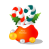 72x72px size png icon of christmas gift bag