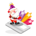 72x72px size png icon of santa creditcard