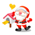 72x72px size png icon of santa mail