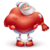 72x72px size png icon of santa gift