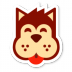 72x72px size png icon of Dog