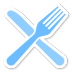 72x72px size png icon of Fork Knife