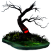 72x72px size png icon of halloween tree