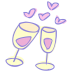 72x72px size png icon of drink cheers