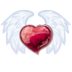 72x72px size png icon of Wing Heart