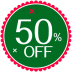 72x72px size png icon of Christmas 50 Percent