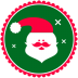 72x72px size png icon of Christmas Santa Claus