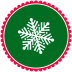72x72px size png icon of Christmas Snow Flakes 3