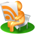 72x72px size png icon of RSS Reader