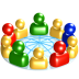 72x72px size png icon of Social network