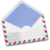 72x72px size png icon of AirMail Stamp